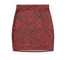 KENIAN PRINT Mini Skirt