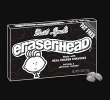 Eraserhead candy by matthaley
