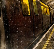 London Underground by Sharonroseart
