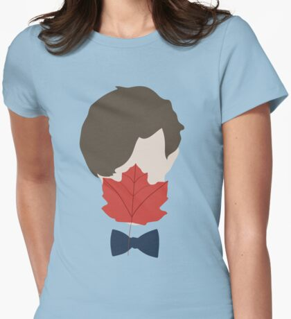 Leaf Licker Womens Fitted T-Shirt