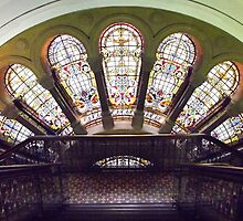 Stained Glass Windows.  by Eve Parry