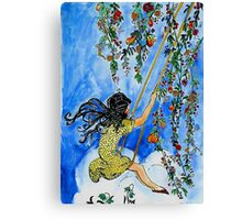 Allegory of August Canvas Print