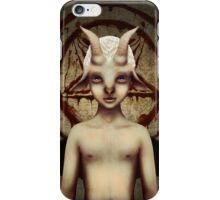PETIT BAPHOMET iPhone Case/Skin