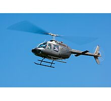 Bell Jet Ranger helicopter Photographic Print
