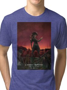 Constance Markievicz - Rejected Princesses Tri-blend T-Shirt