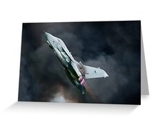 Tornado fighter jet Greeting Card
