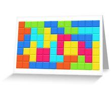 Tetris HD Greeting Card