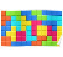 Tetris HD Poster