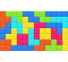 Tetris HD Photographic Print