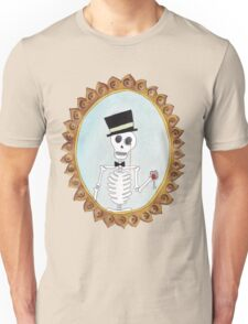 The Gentleman Skeleton Unisex T-Shirt