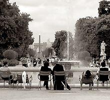 Le Jardin des Tuileries by abiburt