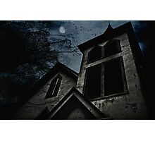 This is the house where evil dwells Photographic Print
