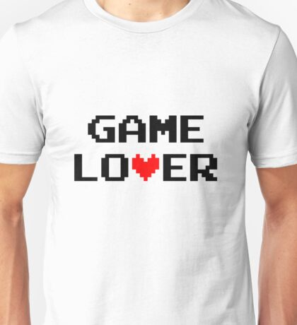 Game lover (black) Unisex T-Shirt