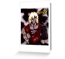 The Return of Violent Ken Greeting Card