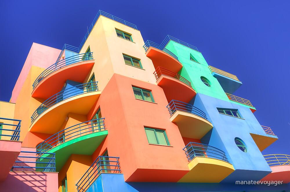 Rainbow House by manateevoyager