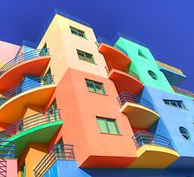 Rainbow House by manateevoyager