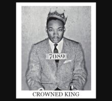 MLKJ - Crowned King by paperboyjim