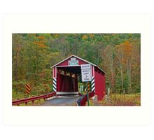 Kramer Covered Bridge-Columbia County Pennsylvania Art Print