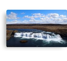 Faxi Waterfall Iceland Canvas Print