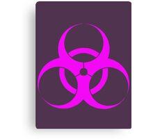 biohazard - organic, bio, hazardous, contaminated, environmentally Canvas Print