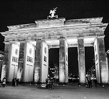 Brandenburg Gate - Berlin by Joel Brown