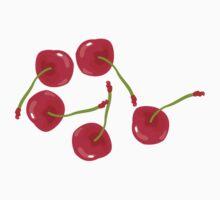 Sweet Cherries One Piece - Short Sleeve