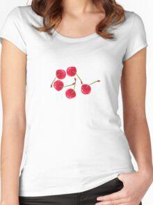 Sweet Cherries Women's Fitted Scoop T-Shirt
