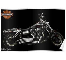 Harley Davidson Dyna  Poster