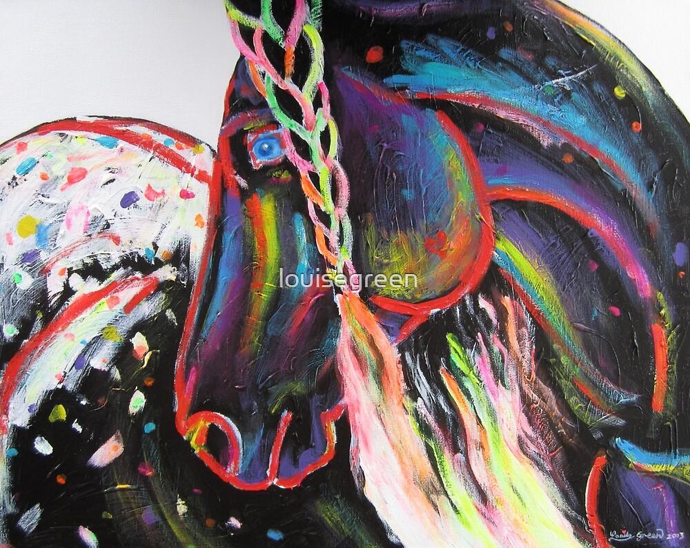Rainbow Appaloosa by louisegreen
