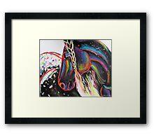 Rainbow Appaloosa Framed Print