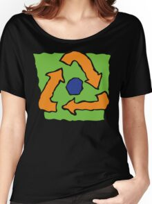 Earth Day Recycle Women's Relaxed Fit T-Shirt