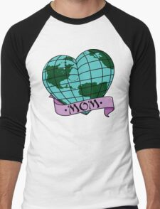 Earth Day Mother Earth Men's Baseball ¾ T-Shirt