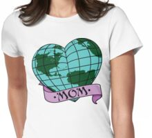 Earth Day Mother Earth Womens Fitted T-Shirt