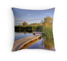 Swanport Wetlands - Swanport, Murray Bridge, South Australia Throw Pillow