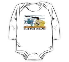 Earth Day Save Our Oceans One Piece - Long Sleeve