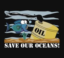 Save Our Oceans Earth Day by HolidayT-Shirts