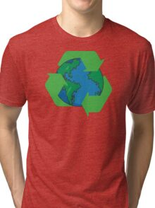 Recycle Earth Day Tri-blend T-Shirt