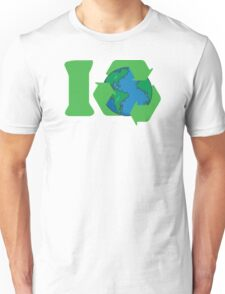 I Recycle Earth Day Unisex T-Shirt