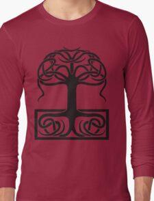 The World Tree, Yggdrasil Long Sleeve T-Shirt
