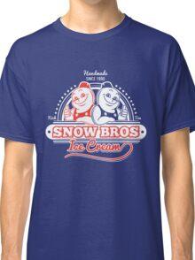 Snow Bros Ice Cream Classic T-Shirt