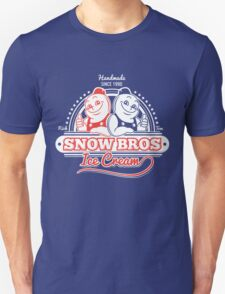 Snow Bros Ice Cream T-Shirt