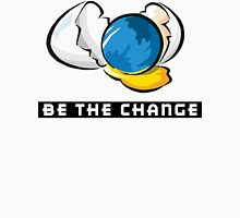 Earth Day Be The Change Womens Fitted T-Shirt