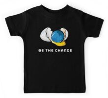 Be The Change Earth Day Kids Tee