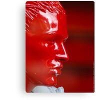 Red Dummy Head  VRS2 Canvas Print