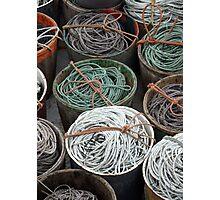 Trawl Tubs Photographic Print