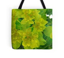 Yellow levity Tote Bag