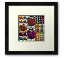 Bound and Barbed Framed Print