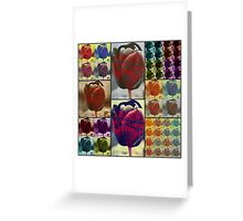 Bound and Barbed Greeting Card