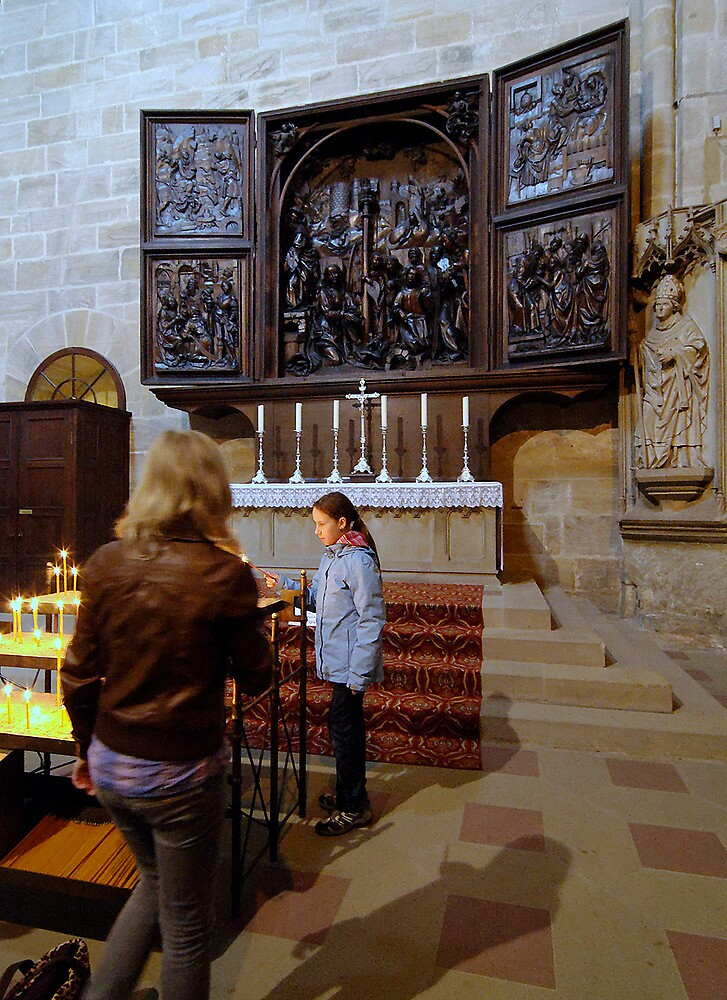 Cathedral, Bamberg 14 by Priscilla Turner