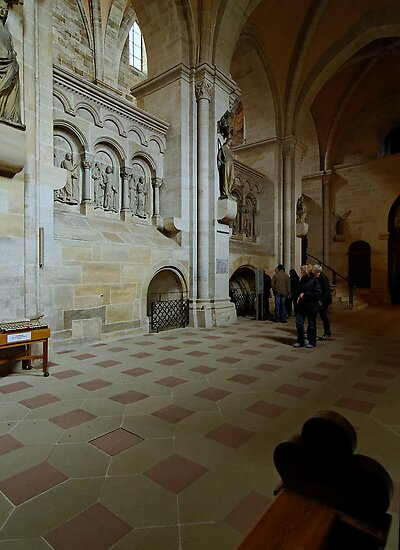 Cathedral, Bamberg 6 by Priscilla Turner